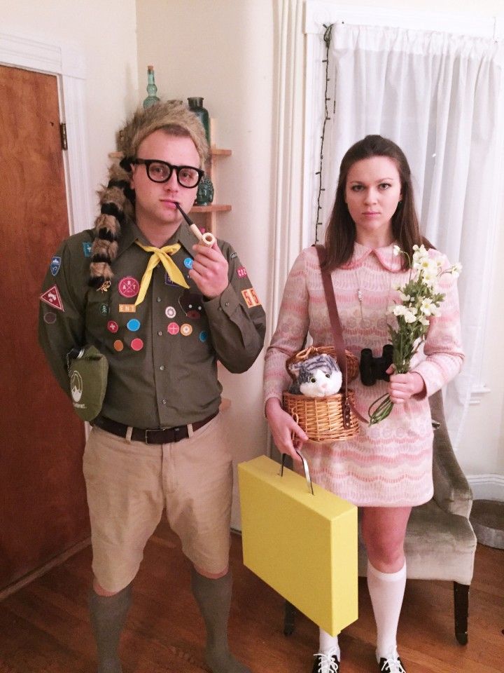 Halloween DIY: Suzy & Sam from Moonrise Kingdom
