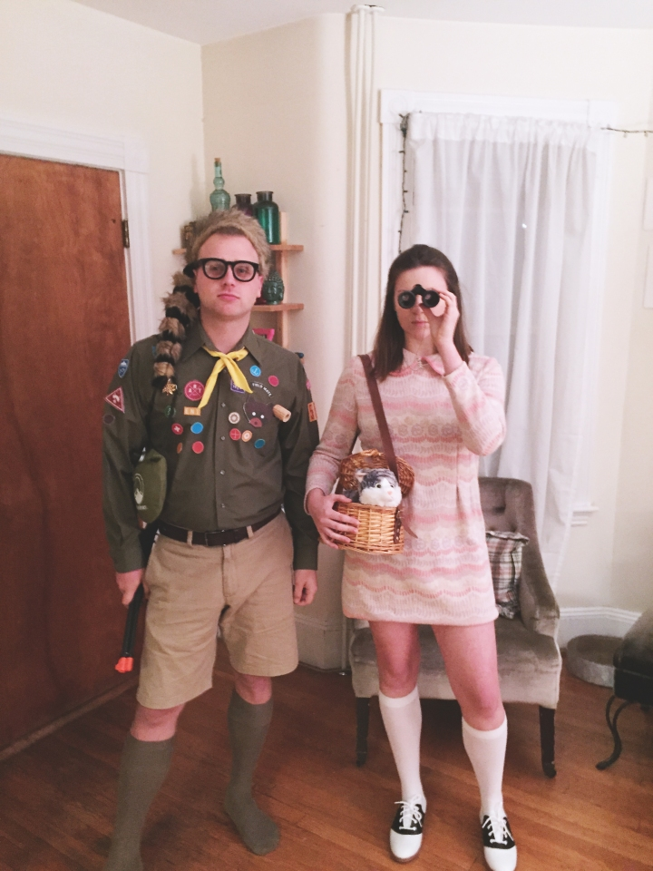 Moonrise Kingdom Suzy & Sam costumes via FrolickingAround.com