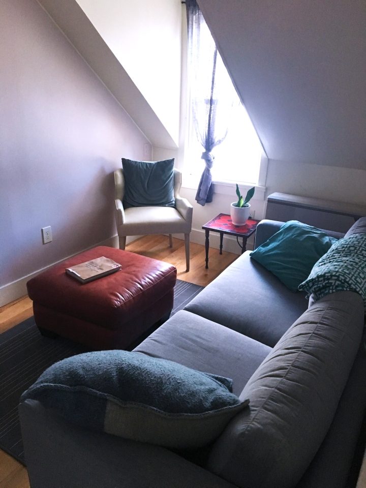 Cozy Airbnb in Burlington, Vermont via FrolickingAround.com
